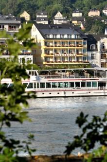 Hotel Baudobriga in Boppard - Direkt am Rhein gelegen.